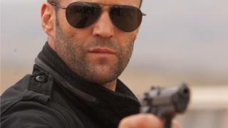 Джейсон Стетхем, чоловік, очки, зброя, актор, пістолет