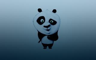 тёмно синий, кунг-фу панда, палочки, кунг-фу панда, пельмень