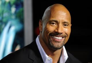 Dwayne Johnson, actor, smile