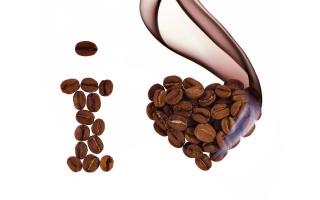 I love, coffee