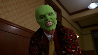 Jim Carrey, celebrity, film, maska