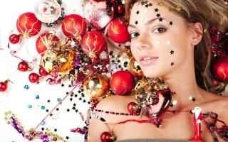 decoration, girl, stars, Toys, Balls