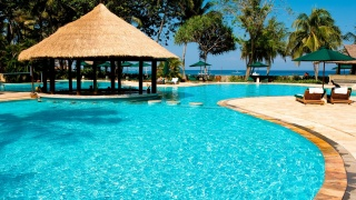 resort, the rest, the sun, pool