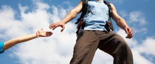 helping hand, hike