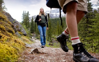 hike, trail, people, shoes, green tourism