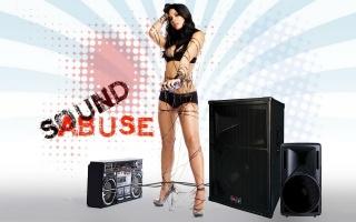 Zvuk, zneužívání, dívka v кассетной film
