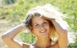 girl, smile, joy