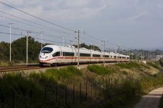 поезд, локомотив, дорога, рельсы, красота