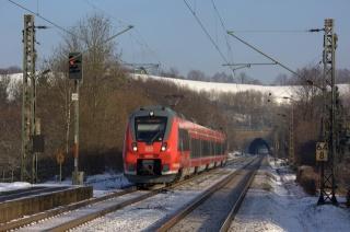 поезд, локомотив, дорога, красота, туннель
