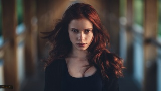 photographer, girl, model, view