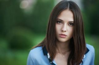 Catherine Timokhina, model, view, macro photo
