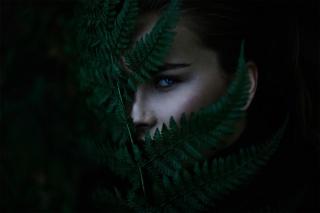 profi foto, Michael Farber, příroda, holka, pohled