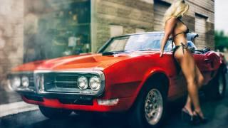 muscle cars, жінки, блондинка, бікіні, з, Понтіак