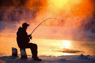 рибалка, річка, красиво