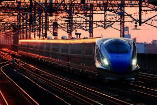 фото, станция, жд, поезд, состав, путя, лэп