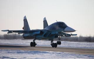 оружие, российский, самолет, бомбардировщик, Су-34