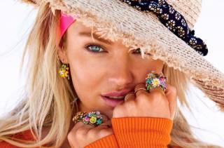 Кендіс Свейнпол, модель, погляд