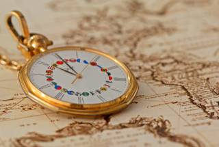 gold, watch, map, macro