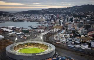 місто, стадіон, нова зеландія, Веллингтон