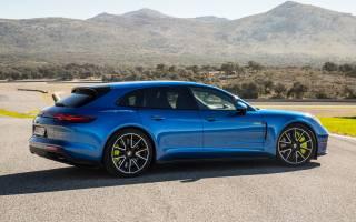 Porsche, Panamera, turbo s, 2018, E-Hybrid