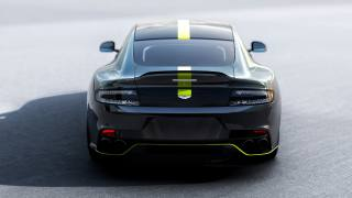 Aston Martin, rapide, rear view