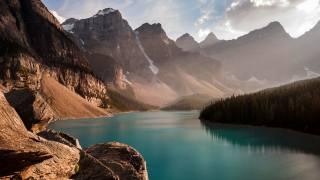 nature, mountains, Canada