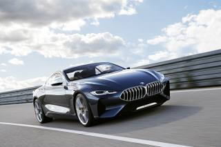 Car, BMW 8 Series, concept