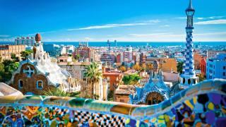 Spain, Barcelona, Антонио Гуди