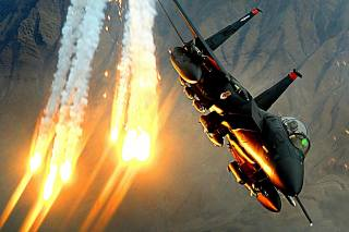aviation, the plane, Fighter, F-15, maneuver, flash