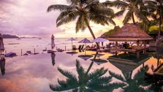праслин, сейшелы, пальмы, путешествия