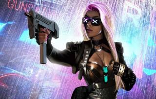 cyberpunk, образ, арт