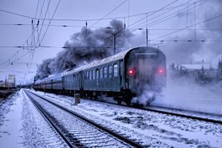 поезд, состав, пути
