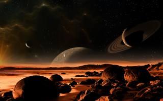 planet, пейзаж обои на рабочий стол