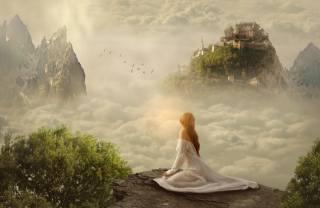Мечта, замок, замок, фэнтези