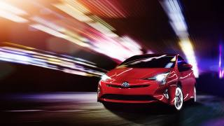 2016, Car, machine, Toyota, Prius, Hybrid