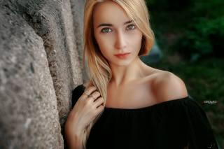девушка, модель, взгляд