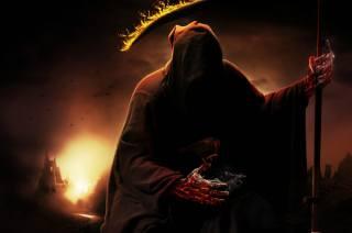 темно, смерть