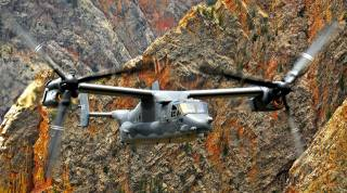 aviation, the convertiplane, air force, USA, v-22 osprey, flight, rock