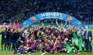 FC, Barcelona, win, 2015, people