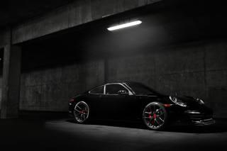Vorsteiner, Porsche, каррера, вуглецю, чорний