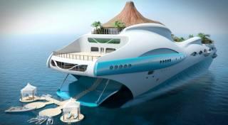 прототип, мега, яхта, будущего
