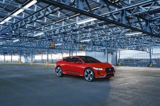 Jaguar, car, Parking, the metal structure