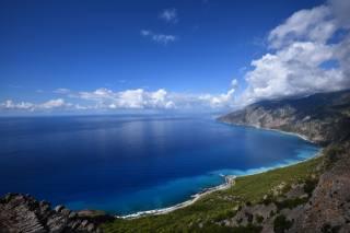 природа, пляж, деревья, берег, небо