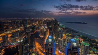 Дубай, 3d, город