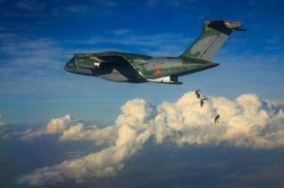 самолет, KC-390, полёт, экстрим