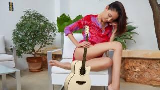 holka, kytara