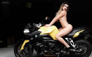 блонда, байк, мотоцикл, бмв