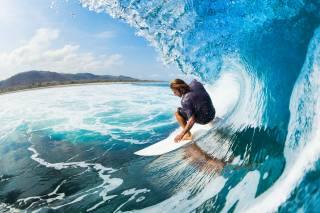 muž, sport, surfování, surf, vlna
