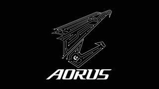 Logo, eagle, Gigabyte, aorus