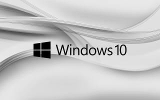 windows 10, Gray, Logo, minimalism